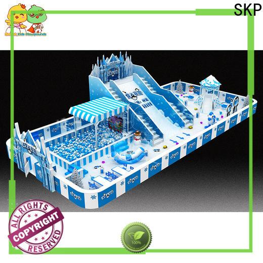 SKP snow theme playground wholesale for kindergarten
