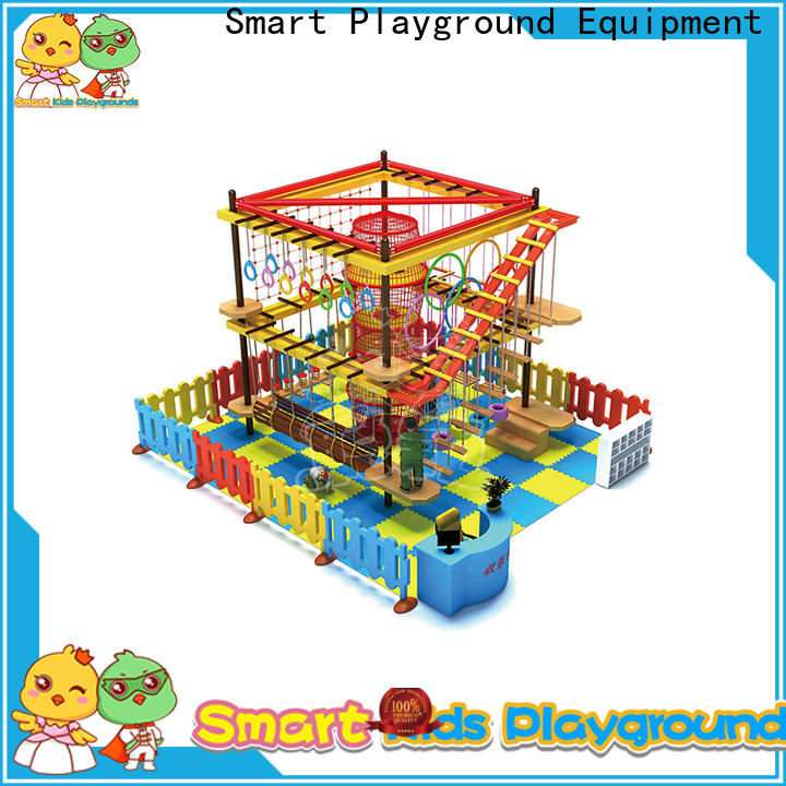 SKP customized rope play equipment for challenge for plaza