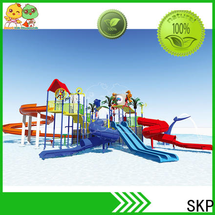 SKP sale water slides simple assembly for playground