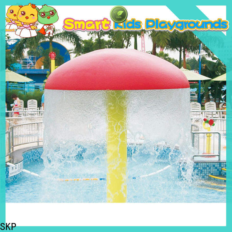 colorful water park playground aqua simple assembly for plaza