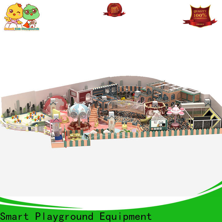 SKP wooden playground equipment for kids fun for indoor
