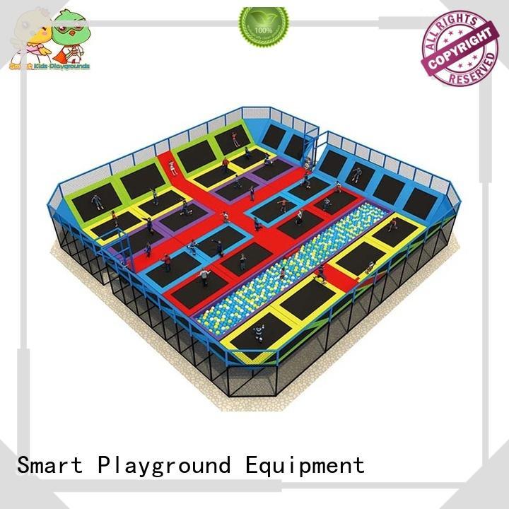 Custom indoor trampoline park sale Smart Kids Playgrounds