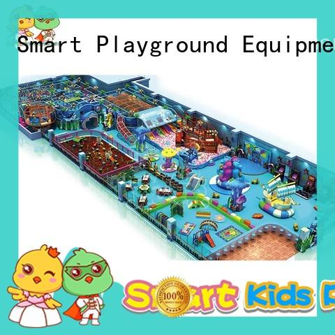 stable ocean themed playground from China for shopping mall