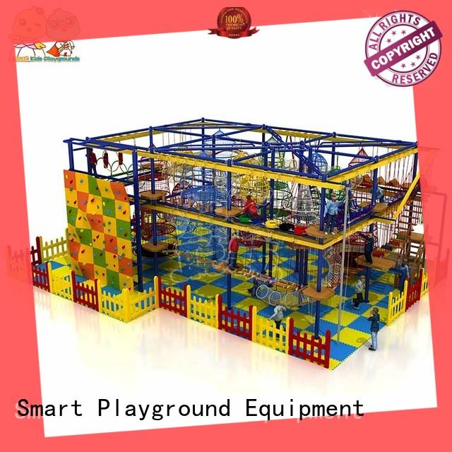 Smart Kids Playgrounds rope rope play equipment supplier for play house