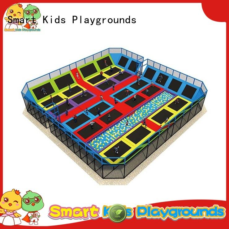 Smart Kids Playgrounds Multicolor cheap trampolines for sale for fitness for school