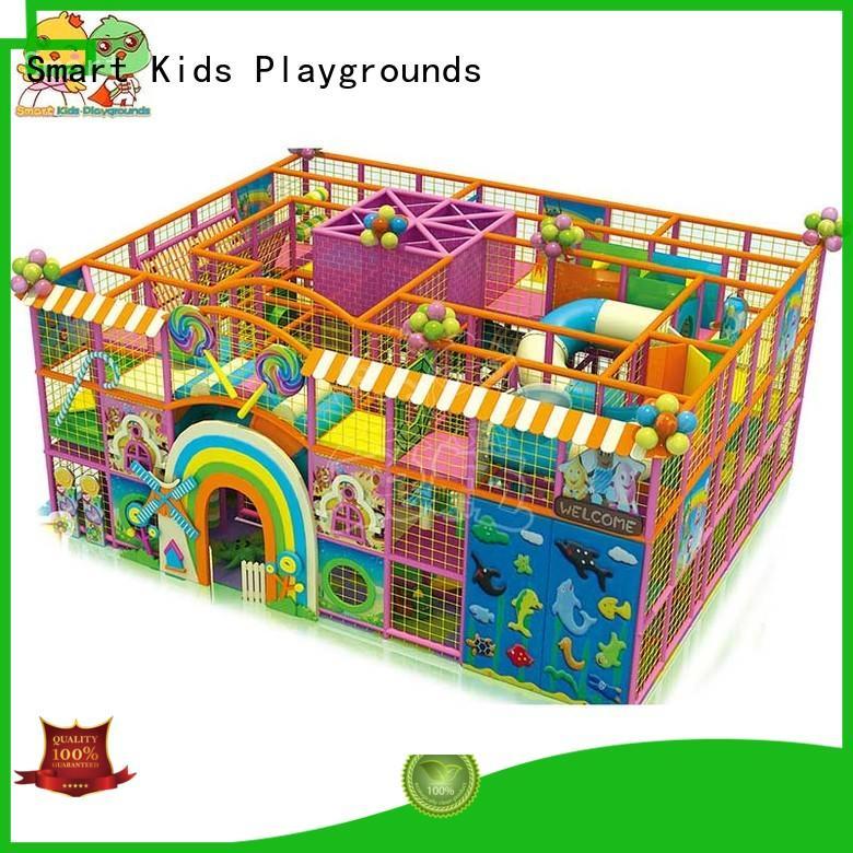 high-quality indoor best indoor playground Smart Kids Playgrounds Brand