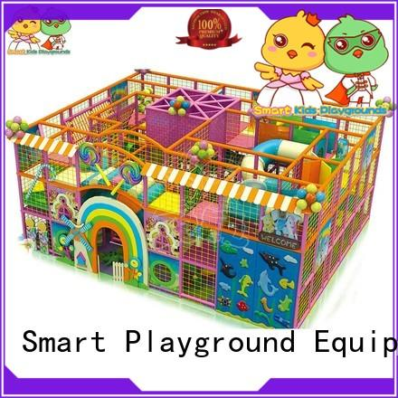 best indoor playground kids customized candy theme playground indoor Smart Kids Playgrounds Brand