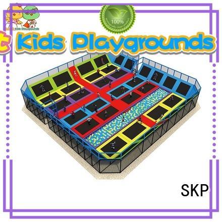SKP trampoline trampoline park equipment for fitness for Kindergarten