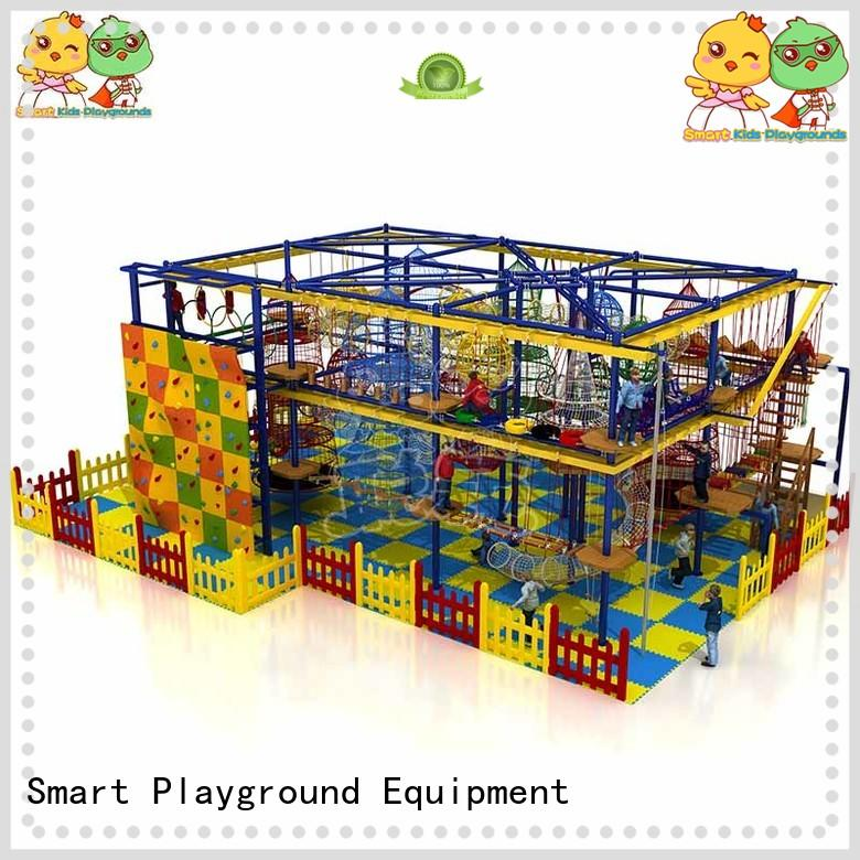 challenge adventure sale customized Smart Kids Playgrounds Brand rope play equipment supplier