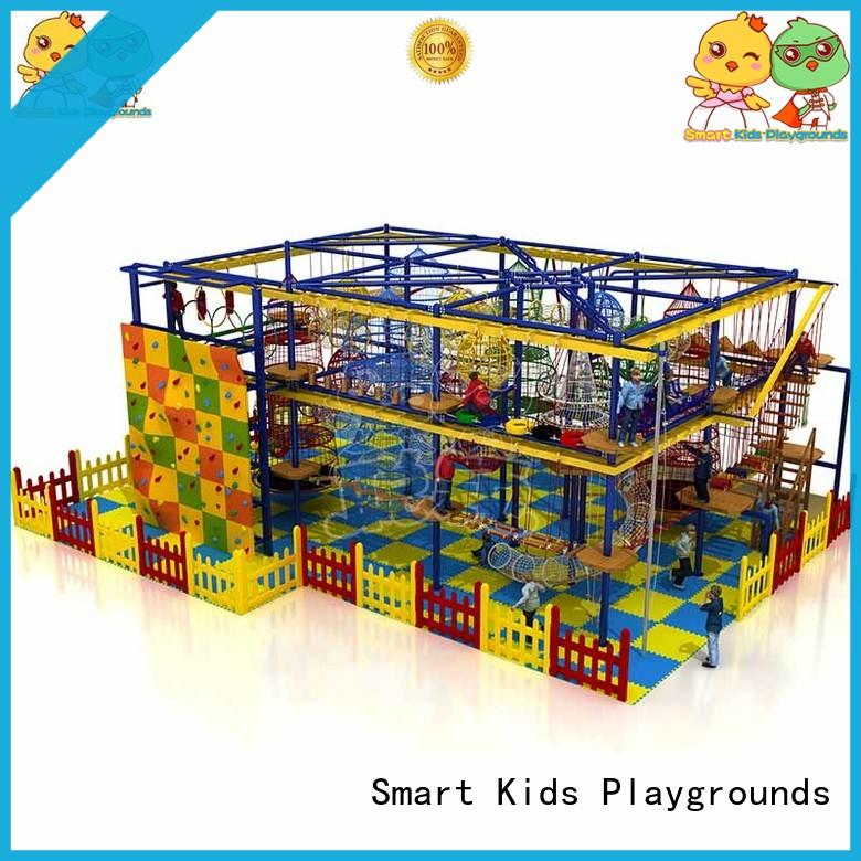 playground for sale indoor sale rope play equipment Smart Kids Playgrounds Brand