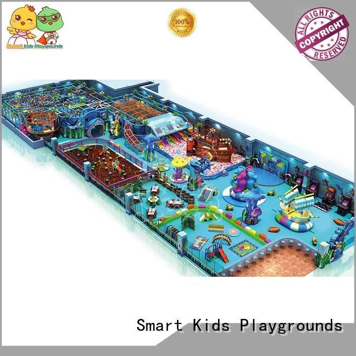 manufacturer sale ocean themed playground indoor Smart Kids Playgrounds Brand company