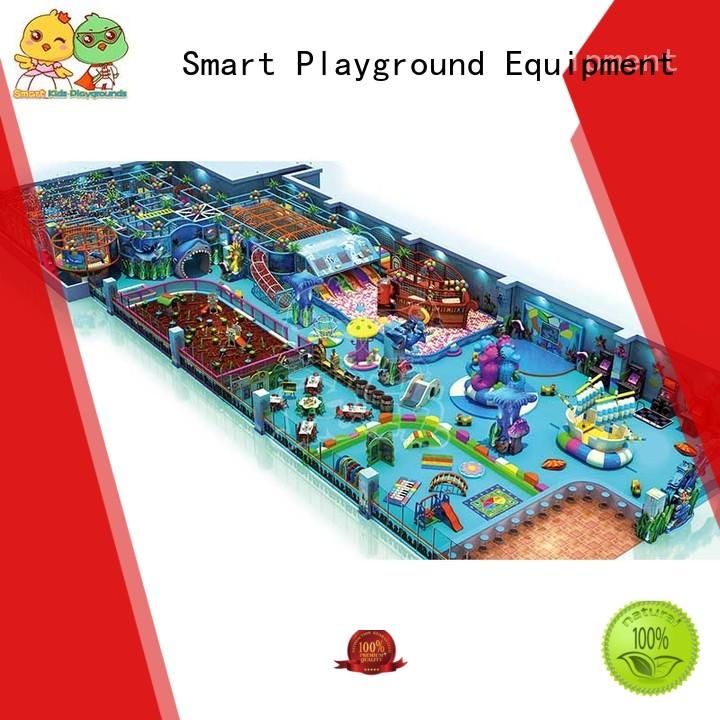 Smart Kids Playgrounds Customized ocean themed playground for kids for public places