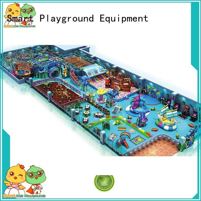 castle manufacturer ocean themed playground children Smart Kids Playgrounds Brand company