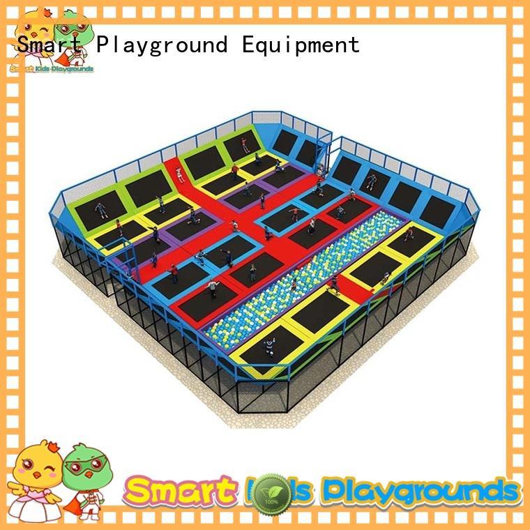 Smart Kids Playgrounds trampoline trampoline park high quality for Kindergarten