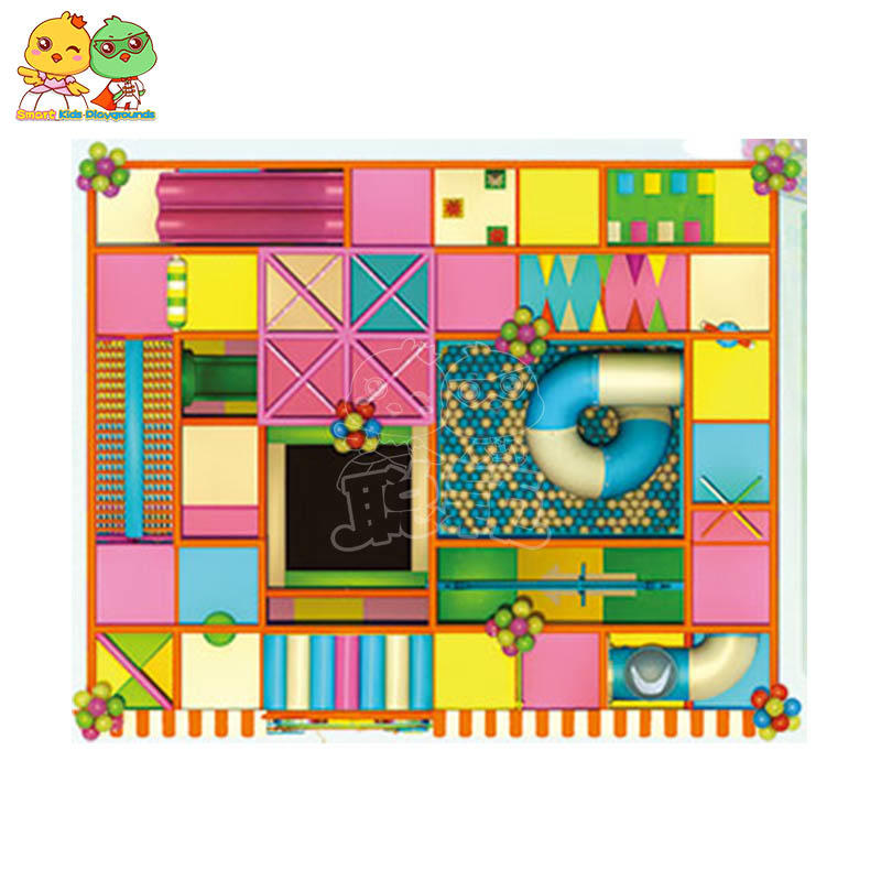 SKP safe candy theme playground for fitness for play house-2