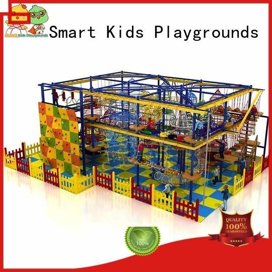 Smart Kids Playgrounds security rope play equipment indoor for Kindergarden