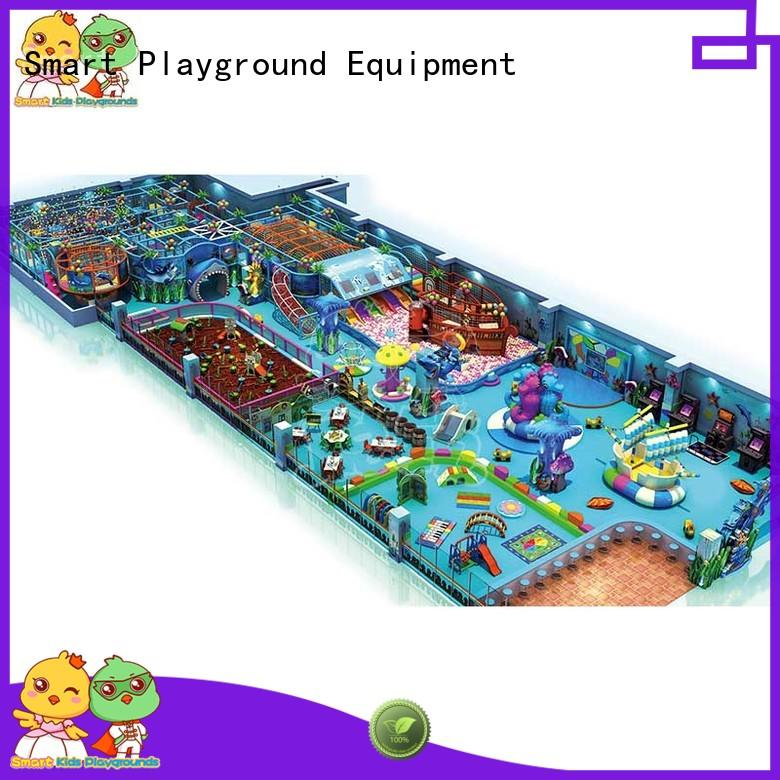 Customized ocean themed playground playground supplier for shopping mall