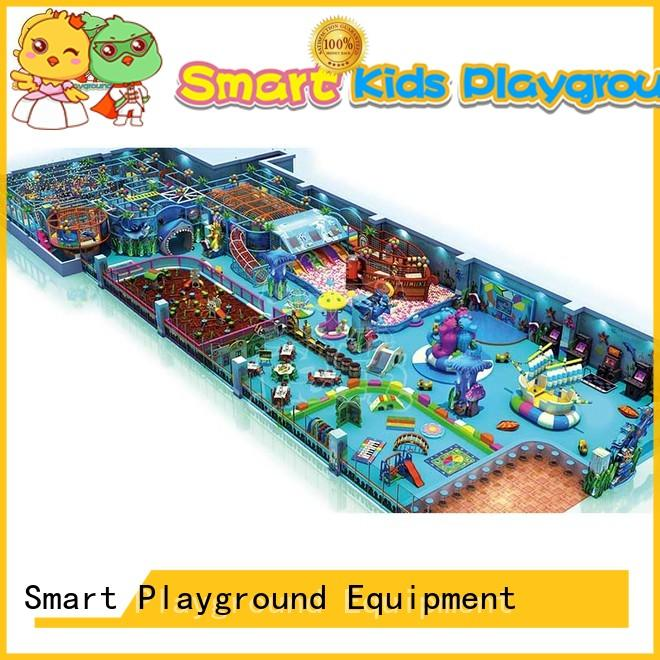 Smart Kids Playgrounds Brand manufacturer naughty ocean themed toys for toddlers indoor supplier