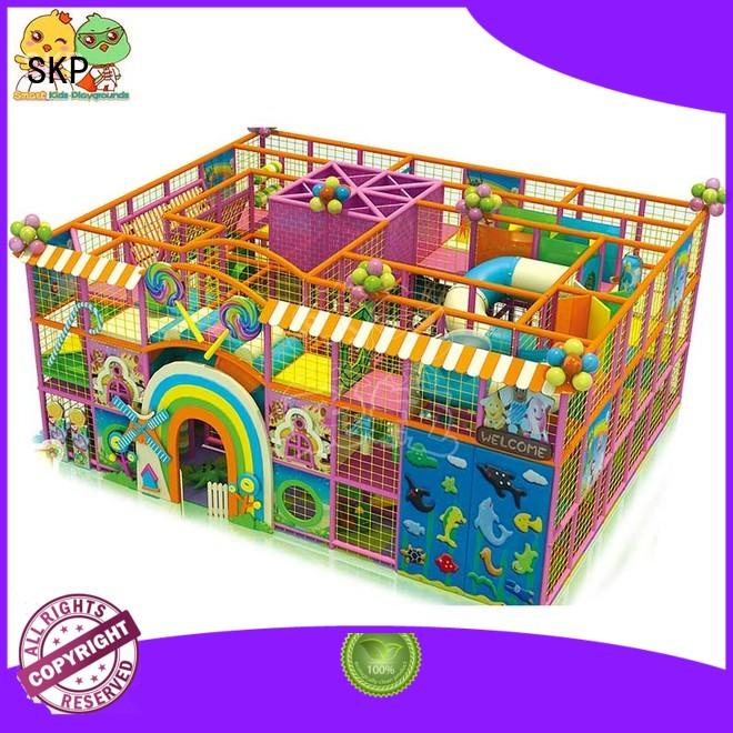 SKP safe candy theme playground for fitness for play house
