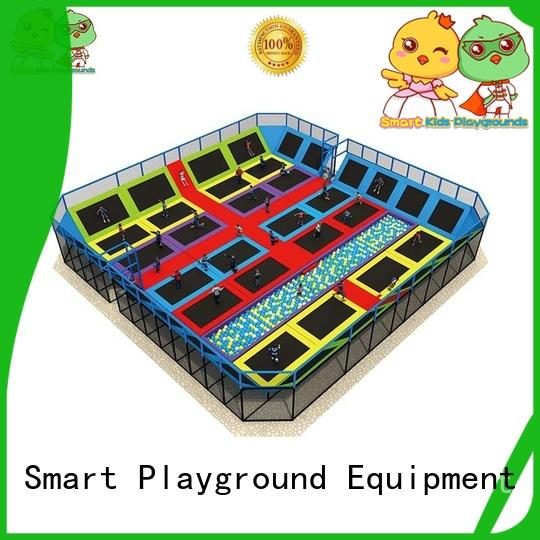 skp1811204 trampoline park park for amusement park Smart Kids Playgrounds