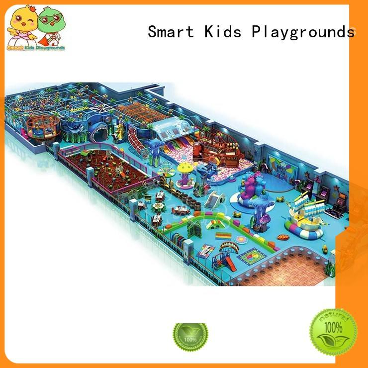 Quality Smart Kids Playgrounds Brand ocean themed toys for toddlers castle children