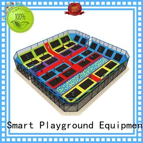 Customized trampoline park equipment equipment for fitness for community
