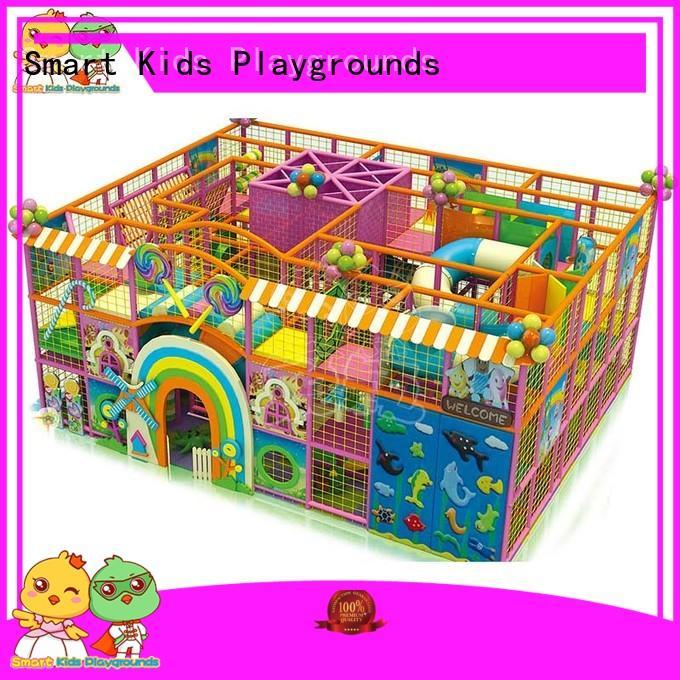 fun candy theme playground customized Smart Kids Playgrounds company