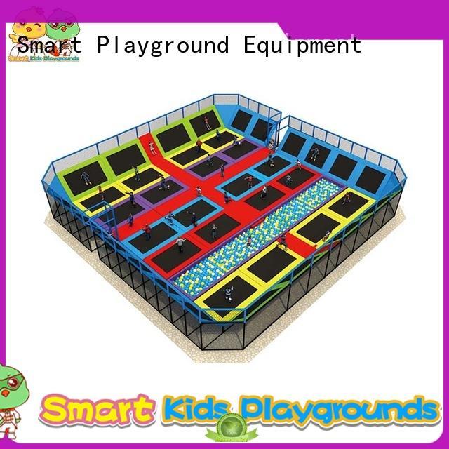 kids indoor trampoline customized sale trampoline park indoor Smart Kids Playgrounds Brand