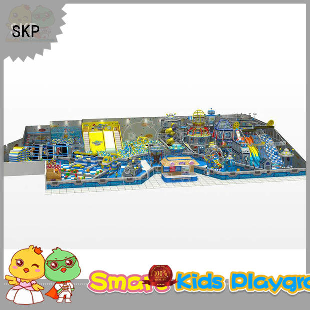 SKP Customized space theme playground supplier for plaza