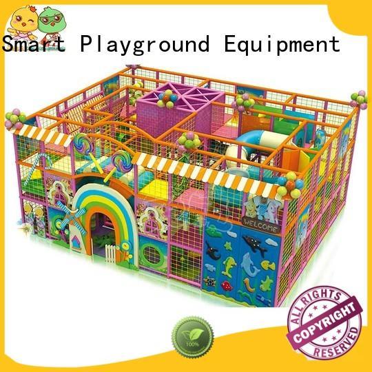 indoor customized equipment high-quality best indoor playground Smart Kids Playgrounds Brand