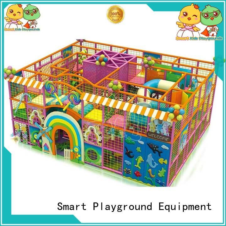 Candy indoor playground maze equipment for children SKP-1811201