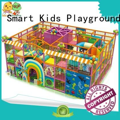 Smart Kids Playgrounds candy candy theme playground wholesale for plaza