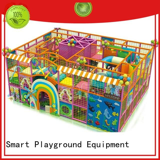 SKP funny candy theme playground wholesale for play house