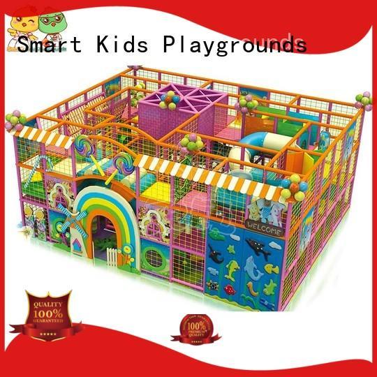 customized indoor children Smart Kids Playgrounds Brand best indoor playground factory