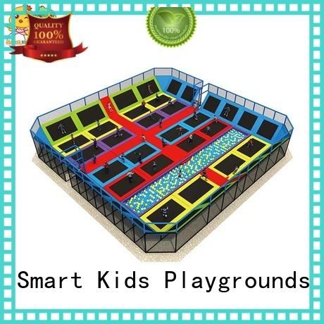 Multicolor kids indoor trampoline on sale for school Smart Kids Playgrounds