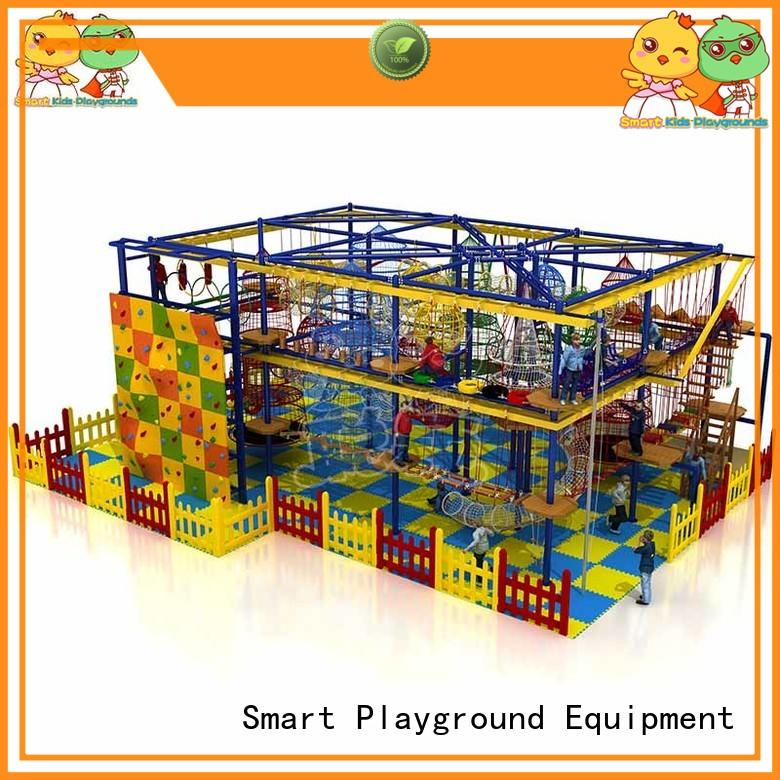 SKP rope rope play equipment for challenge for shopping mall