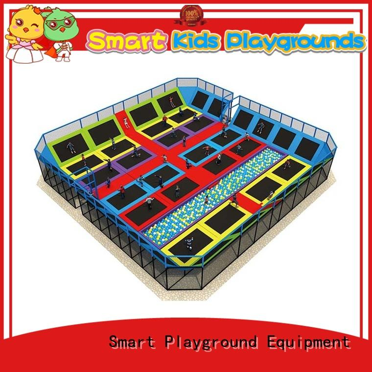 Multicolor trampoline park equipment for sale for community
