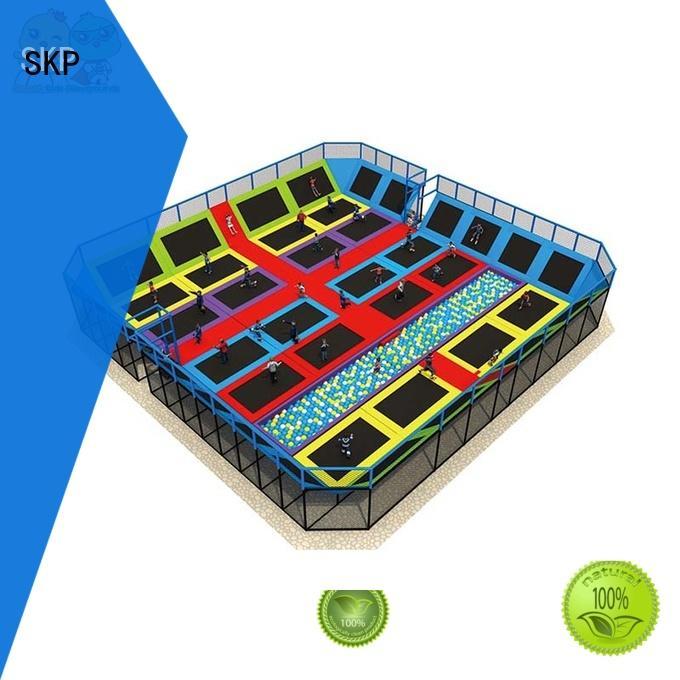 SKP indoor trampoline park for fitness for Kindergarten