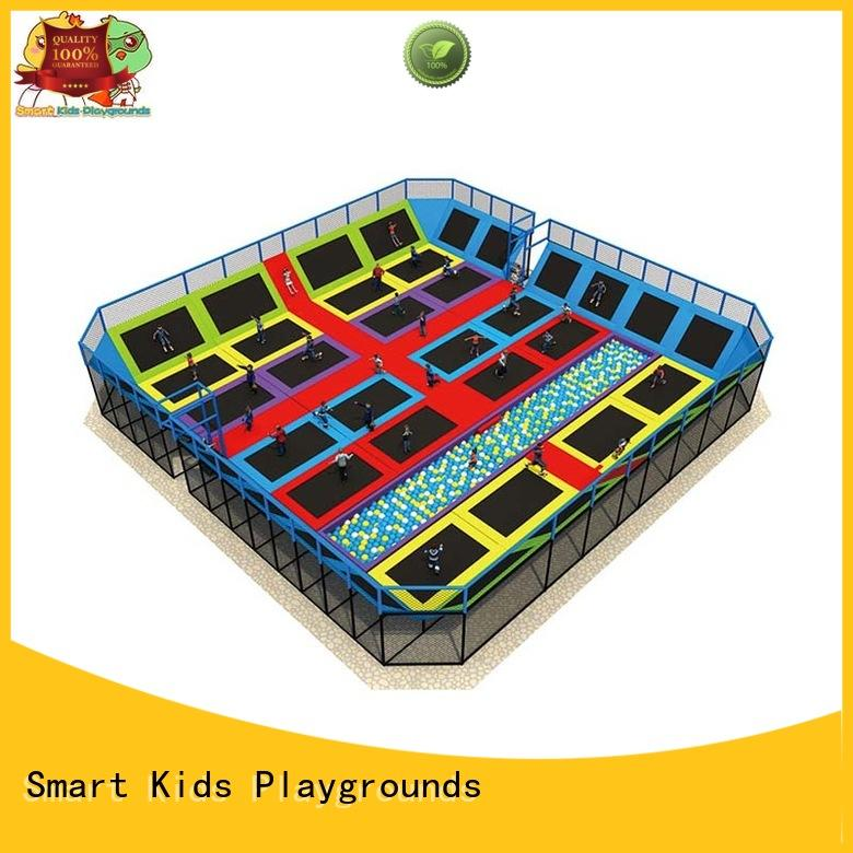 indoor amusement multicolor trampoline park Smart Kids Playgrounds